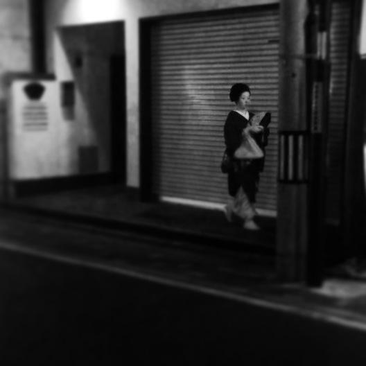Geisha in Shimbashi